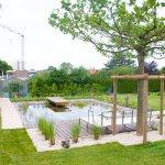 Teich als Element im Garten