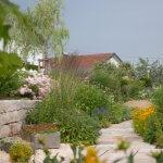 Gartengestaltung mit Bepflanzung