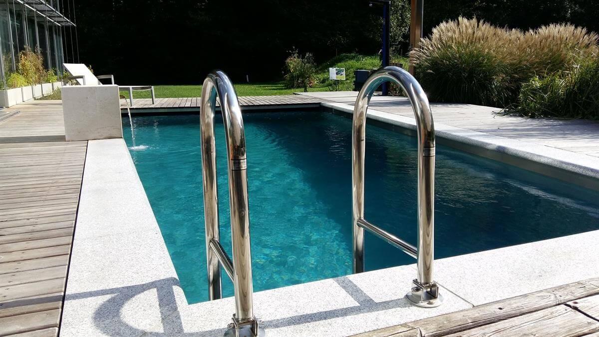 Umbau zu einem Living-Pool